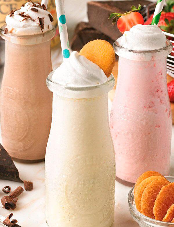 Milk Shake Trio