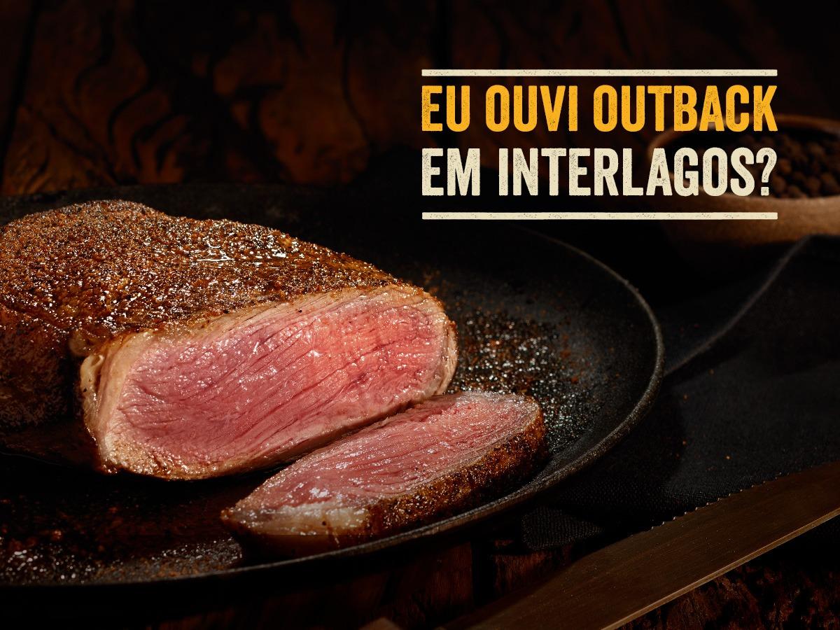 Outback Steakhouse anuncia unidade no Shopping Interlagos